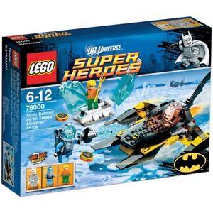 Brand New Lego 76000 Artic Batman Mr Freeze