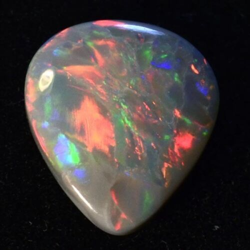 BEAUTIFUL LOTS OF COLORS BRIGHT GENUINE SOLID AUSTRALIAN NATURAL OPAL 10734