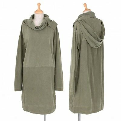OSKLEN  Cotton Hood Long Tops Size M(K-37583)