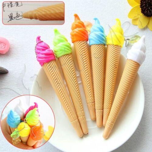 5Pcs-Creative-Cute-Sweet-Candy-ice-Cream-Color-Ballpoit-Pens-Stationery