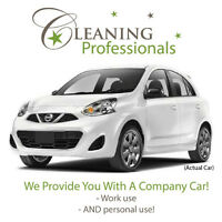 Pro Cleaner - No Vehicle Needed! Benefits + Company Car + Tips