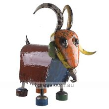 EE-I-EE-I-O Billy the Goat Medium Metal Garden Art Sculpture Castle Hill The Hills District Preview