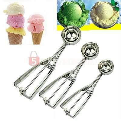 3× Kitchen Ice Cream Scoop Cookie Muffin ...