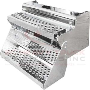 Kenworth T-800 Tool Box W/Single Step Stainless 430 Cover