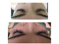 Lusciously long lashes