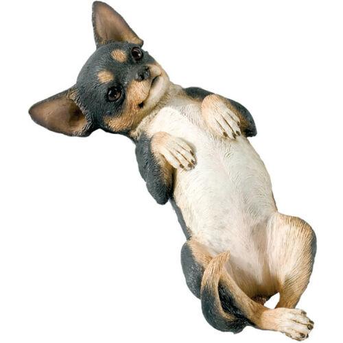 ♛ SANDICAST Dog Figurine Sculpture Chihuahua Tri