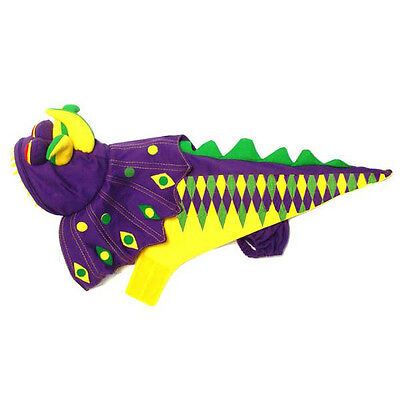 Mardi Paws Dragon Dog Halloween Costume from PamPet/PuppeLove - Size 4