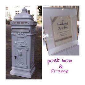 Lovely wedding post box, birthdays, christenings, parties, anniversaries