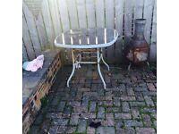 Free garden table