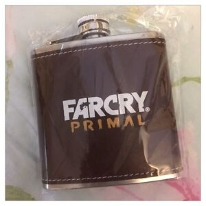 Brand New Far Cry Primal 6oz Stainless Steel Flask