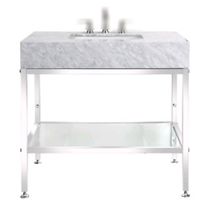 "36"" Natural marble Top"