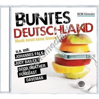 CD: BUNTES DEUTSCHLAND - Musik kennt keine Grenzen - christliche Musik *NEU* (Bunte Grenzen)