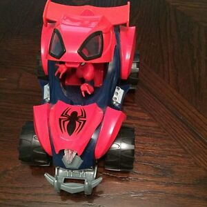 SUPER COOL SPIDERMAN RACING CAR_EUC_SFPF