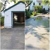 COMPLETE GARAGE PACKAGES AND DRIVEWAYS