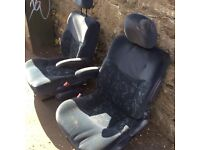 PAIR CAPTAINS/FRONT SWIVEL SEATS Suitable for any camper conversion