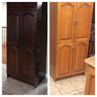 Refacing your cabinet at one lovely price