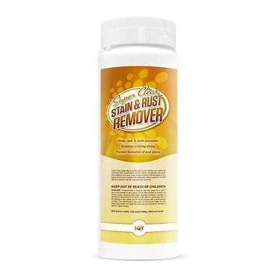 Pool Stain Remover - Rust, Stain, and Scale Remover Swimming Pool Chemical, 1 qt
