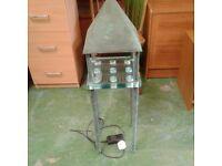 Garden Light Tower Cast Iron