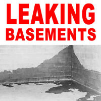 LEAKING BASEMENT REPAIR & RESTORATION SERVICES IN PETERBOROUGH