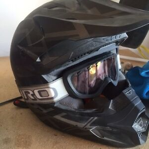 Fly racing youth helmets. 2 for sale with goggles