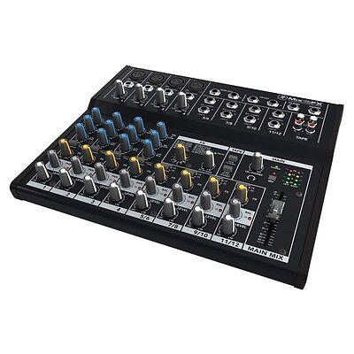 Mackie Mix Series Mix12FX 12-Channel Compact Professional Studio Live Mixer  - Live Compact Mixer