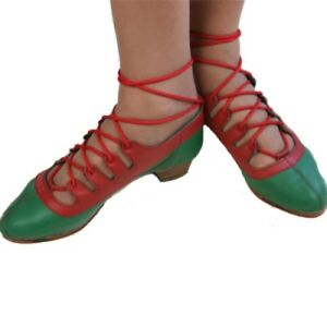Highland Dance Jig shoes Ghillies split full sole gillie local