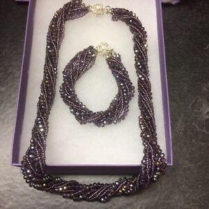 Brand New necklace and bracelet set $40