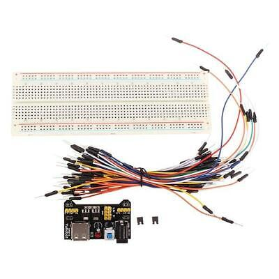 Geekcreit Mb-102 Mb102 Solderless Breadboard Power Supply Jumper Cable Kits