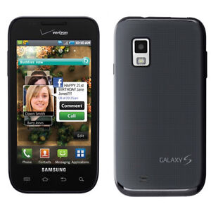 N Samsung Galaxy S Fascinate SCH-I500 - Black (Verizon) Smartphone (A)