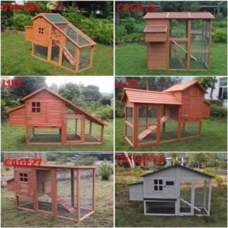 Wide Range Chicken Coop Rabbit Hutch Ferret Guinea Pig Cage house