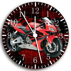 Honda Motorcycle Frameless Borderless Wall Clock Nice For Gifts or Decor W45