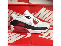 CHERRY NIKE TRAINERS MENS ADULTS WHOLESALE