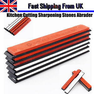 6Pcs Sharpening System Kitchen Knife Cutting Sharpener Stones Abrader Kit Tools