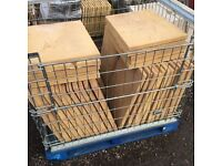 Bradstone Old Riven Autumn Gold 600x450 slabs paving NEW X 59