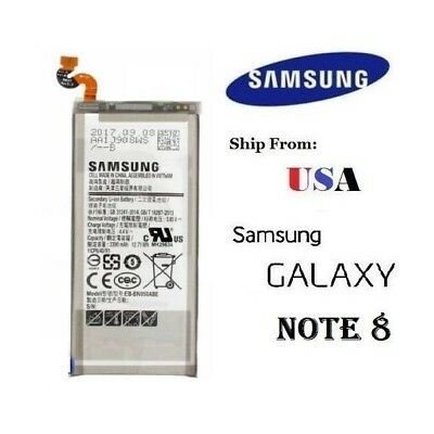 OEM Genuine 3300mAh Li-ion Battery For Samsung Galaxy Note 8 EB-BN950 USA