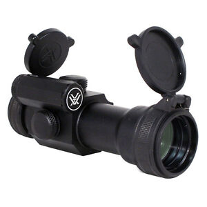 Vortex StrikeFire SFRD Red/Green Dot Sight w/ Extra-High Mount & Magnifier