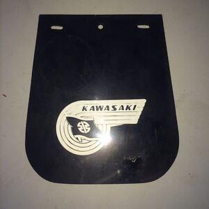 NOS 1960s Kawasaki AirCraft Fender Mud Flap