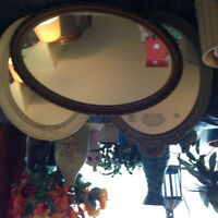 MIROIRS OVALS ANTIQUES