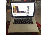 MacBook Pro 15 inch apple laptop