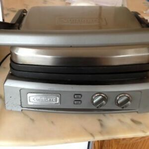 Cuisinart Griddler Deluxe Grill Panini Press