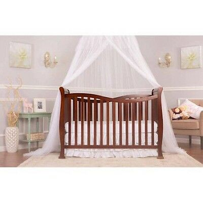 Dream On Me Violet 7-in-1 Convertible Life Style Crib Espresso *Bonus Mattress