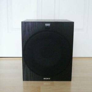 Sony Black Subwoofer Bass Speaker Excellent New Condition