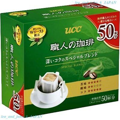 UCC drip coffee Special blend deep taste box Lots 50 bags 350g Japan tasty F/S