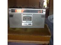 Sharp radio casette player