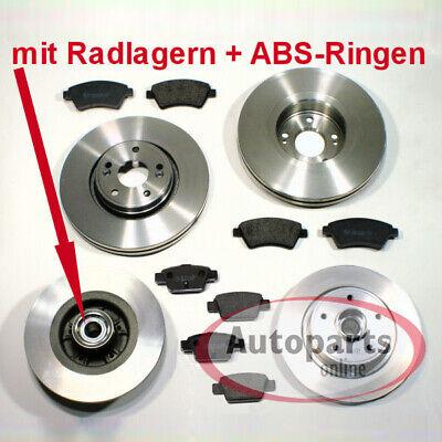 Mercedes Citan - Bremsscheiben Abs Ringe Bremsen Bremsbeläge für vorne hinten