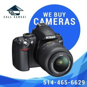 We buy your old cameras