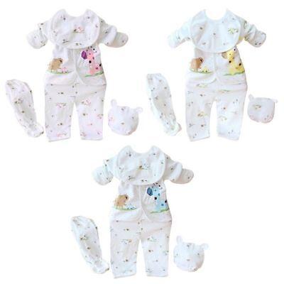 Neugeborenen Set Kleidung Baby Kleidung Mädchen & Jungs 5 Teile 100% Baumwolle