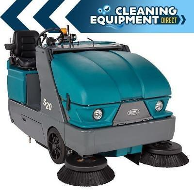 Reconditioned Tennant S20 Propane Powered Rider Sweeper