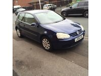 Vw golf 3 door blue 1.9tdi