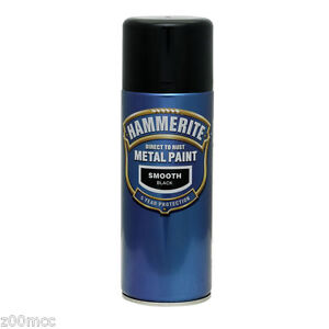 Hammerite-Smooth-Metal-Paint-400ml-Spray-ALL-COLS-x-2-Cans